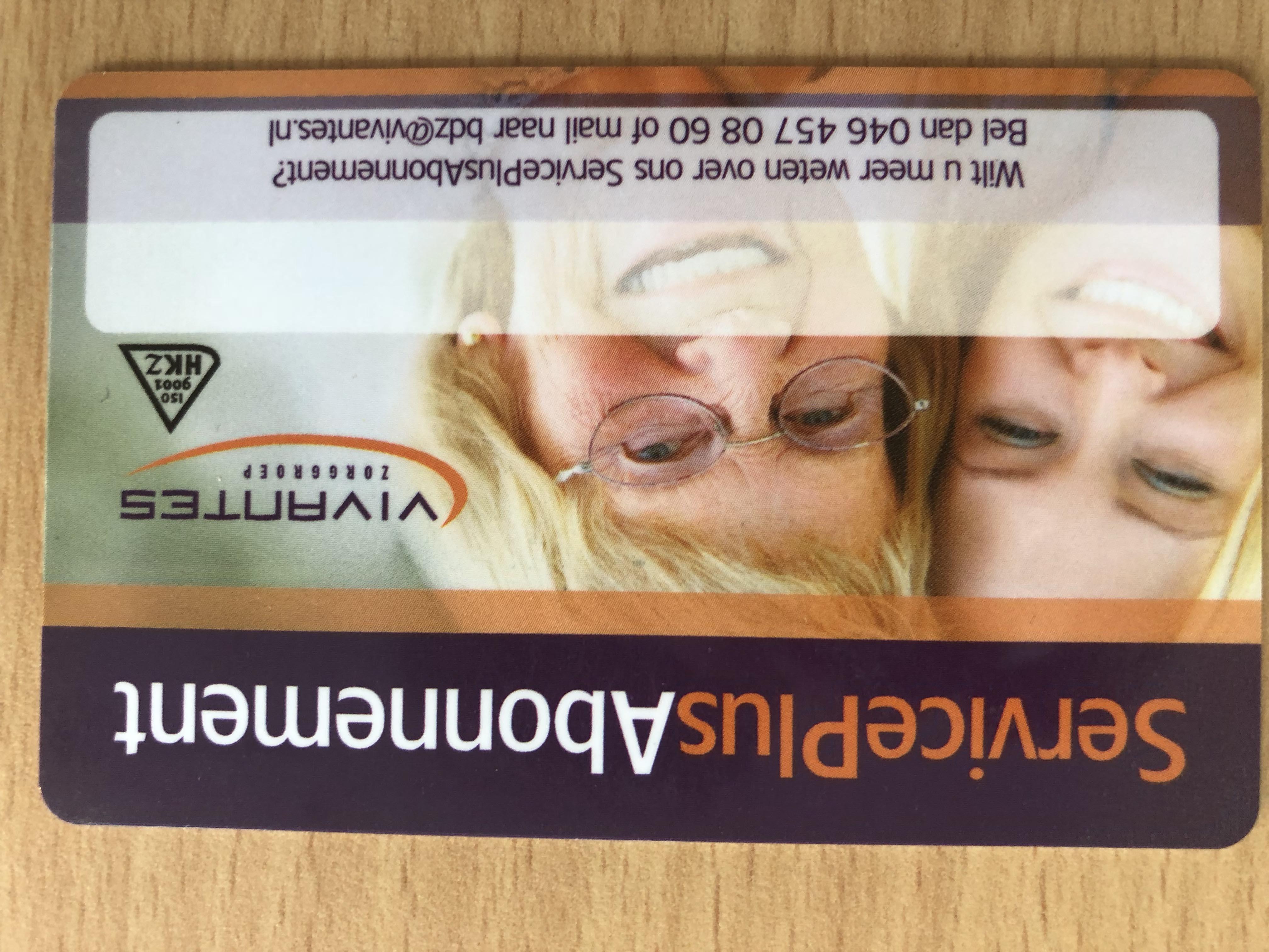 Aanbieder ledenpassen: ServicePlusAbonnement van Vivantes
