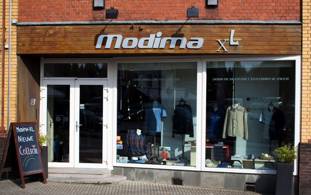 Modima XL kledingwinkel