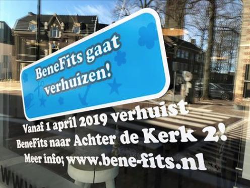 BeneFits verhuist 1 april